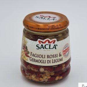 Fagioli rossi e Germogli di legumi - Saclà