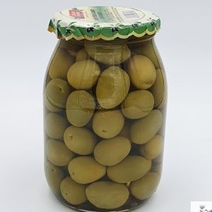 Olive Verdi Giganti in salamoia - Delizie di Riviera