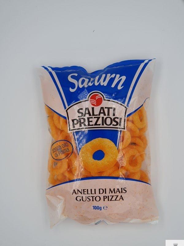 Patatine Saturn anelli di mais- Salati Preziosi