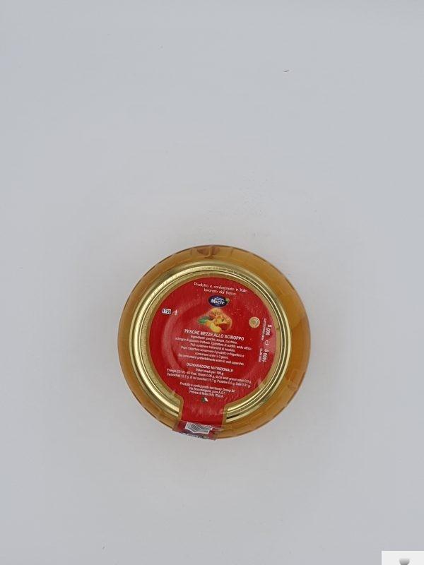 Pesche mezze allo Sciroppo Miele