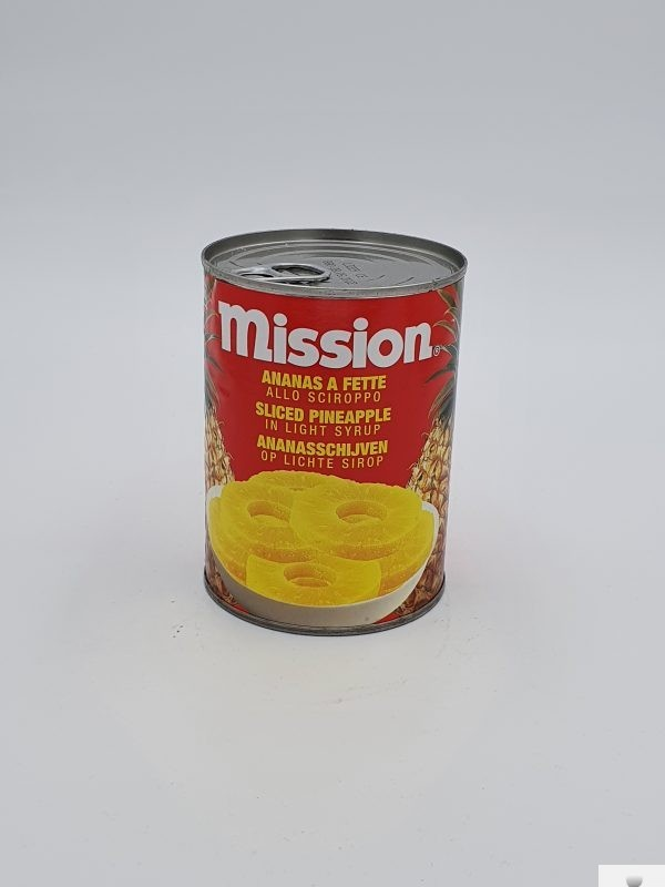 Ananas a Fette allo sciroppo Mission