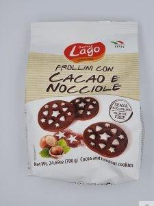 Biscotti Frollini con Cacao e Nocciole