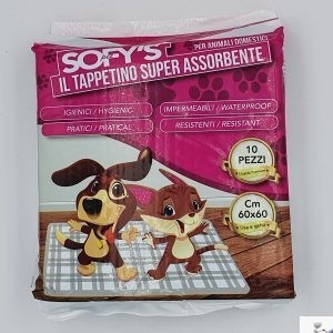 SOFYPET TAPPETINI ANIMALI 60X60