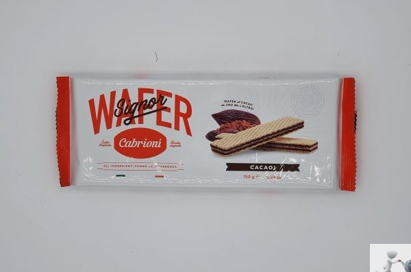 Wafer Cacao - Cabrioni