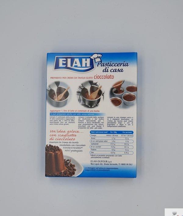 Elah - Preparato per Crema da Tavola, Gusto Cioccolato