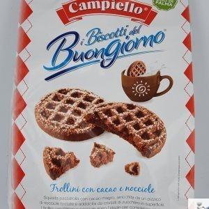 Biscotti del Buongiorno cacao e nocciole - Campiello