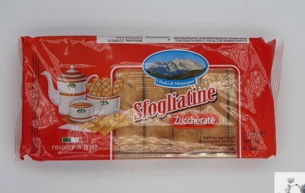 Sfogliatine zuccherate - i dolci della montagna