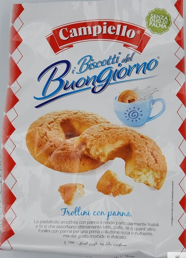 Biscotti del Buongiorno Panna - Campiello
