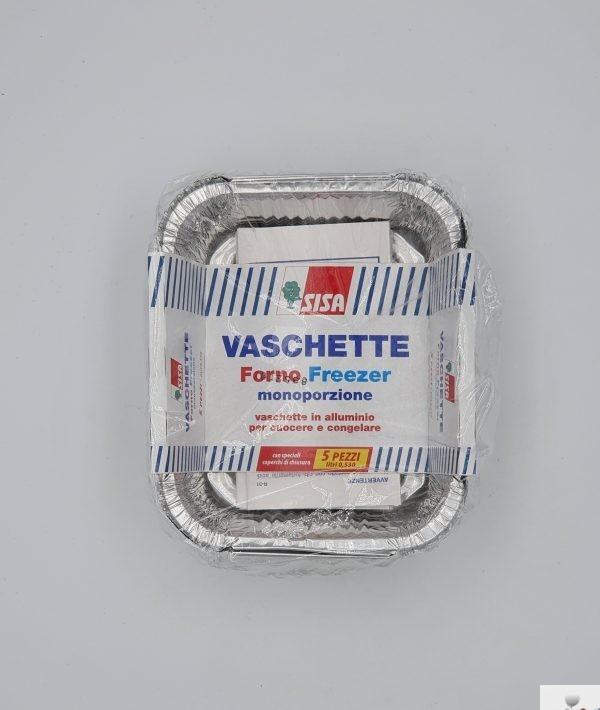 Vaschette Forno Monoporzione - Sisa