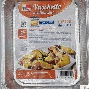 Vaschette Forno 8 Porzioni - Sisa